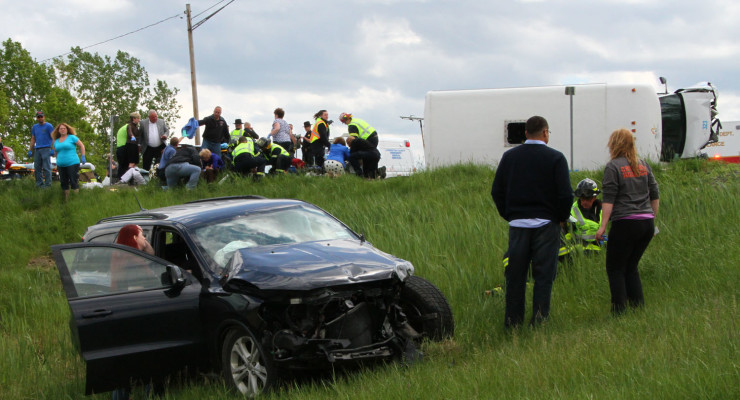 Police: SUV Failed to Yield to Arc Bus