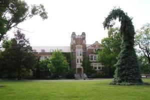 Sturges Hall, SUNY Geneseo. (Photo/Conrad Baker)