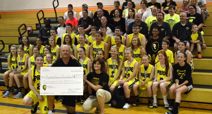 Genesee Valley Pride Shoots Hoops to Raise Money for Myers Foundation