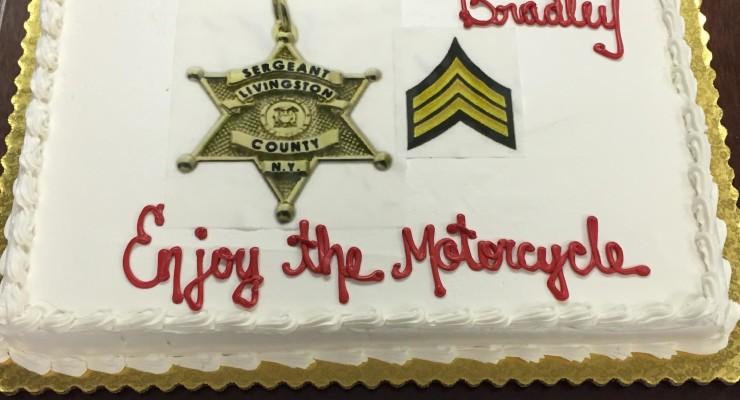 Sheriff's Office Honors Retiring Legend Sgt. Michael Bradley