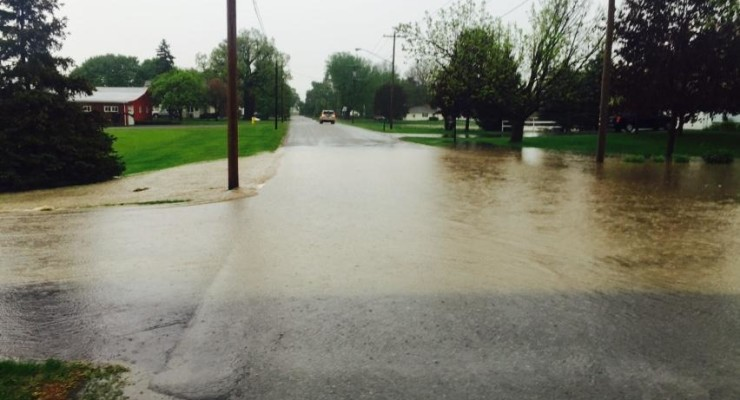 Flash Flooding Closes Multiple Roads in Avon