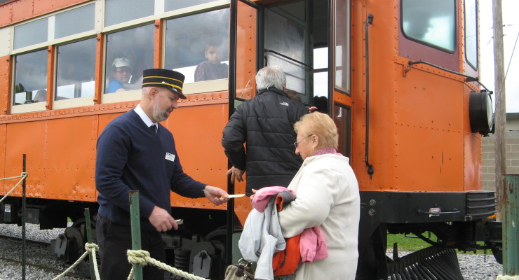 Only Trolley Ride in NYS Gears Up in Rush