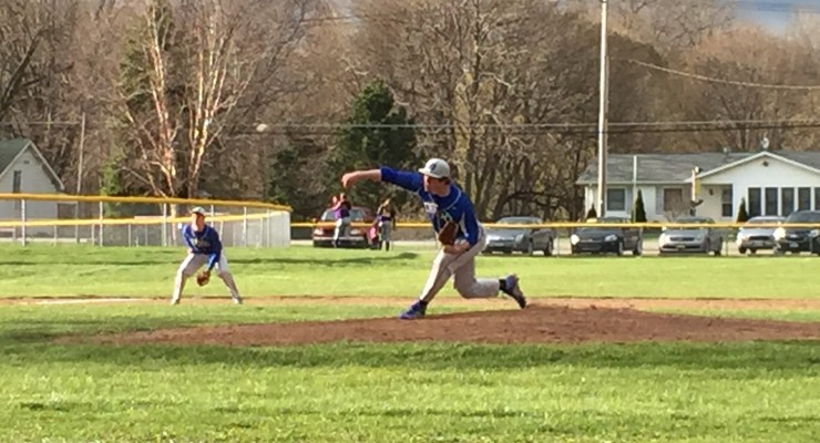 Boys Baseball: Geneseo Blue Devils Win Close Game Against Caledonia-Mumford