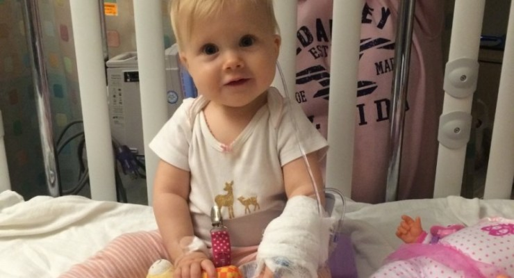 Leicester Infant Paisley Rassau Battling Cancer