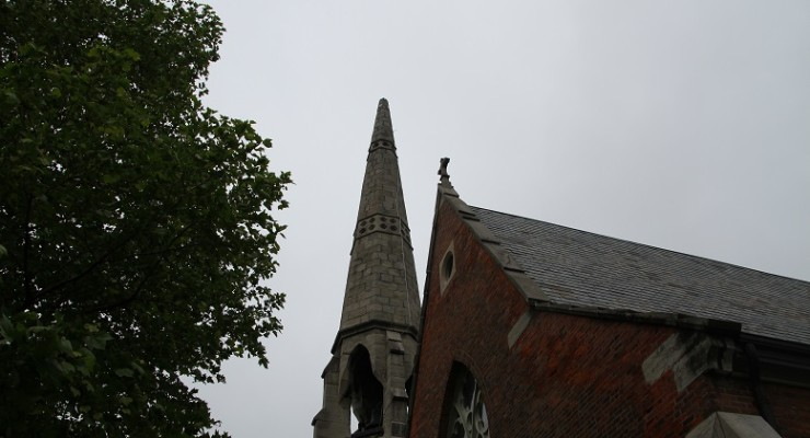 Lightning Strikes Twice at St. Michael's Church