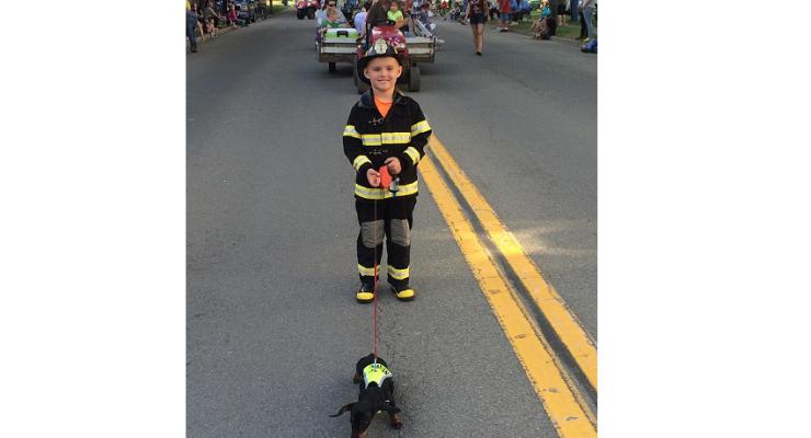 Pet Parade Kicks Off Nunda Fun Days with Style