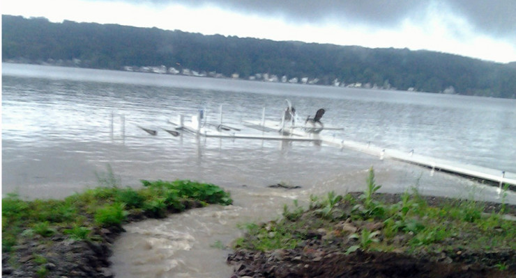 Conesus Lake Rises 4 Inches, Sheriff Issues Boating Advisory