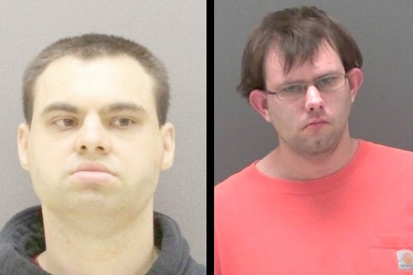 (L-R) Bentley and Bateman. (Photos/Livingston County Sheriff's Office)