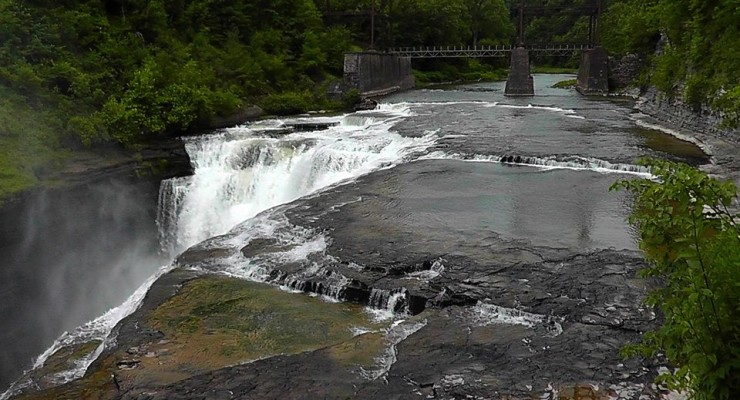Four People Reportedly Over Water Falls at Letchworth State Park