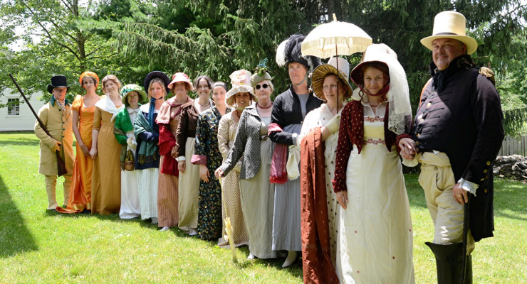 GCV&M Celebrates War of 1812 Bicentennial & Jane Austen this Weekend