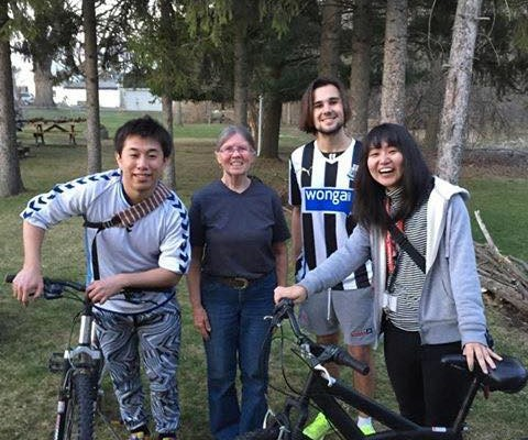 Big-Hearted Batavia Mom Donates Wheels to GCC International Students