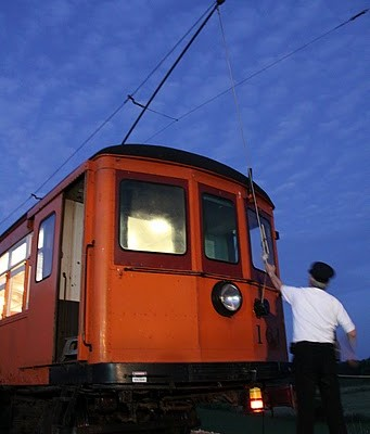 Museum of Transportation Offers Evening of Old-Time Trolley Rides