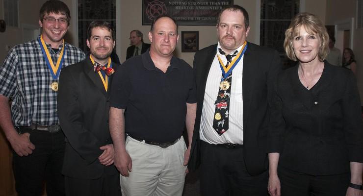 Nunda Hero Firefighters Awarded Senate Liberty Medal