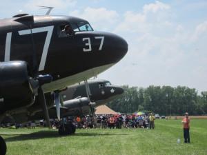 Whiskey-7 at the 2014 National Warplane Museum airshow. (Photo/Conrad Baker)