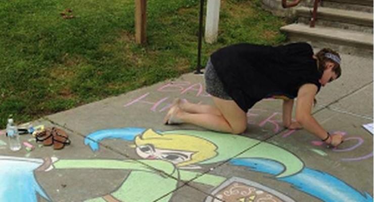 Deadline Approaching for 2015 Dansville Chalk Artists to Register