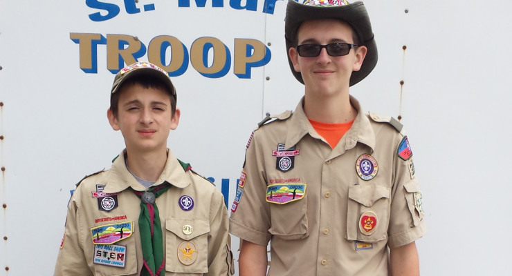 Local Boy Scout Aspires to Eagle by Improving Dansville's Parks