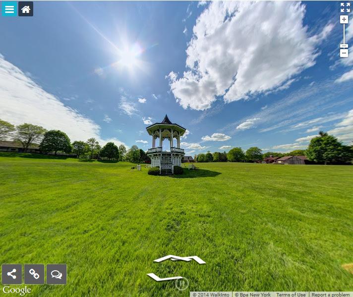 Snapshot of the virtual tour. (Photo courtesy of GCV&M)