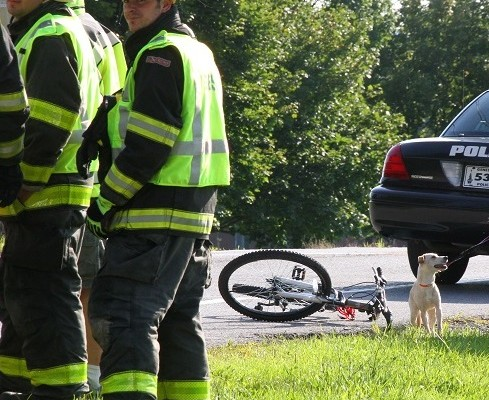 13-Year-Old Boy on Bicycle Collides with Pickup in Geneseo