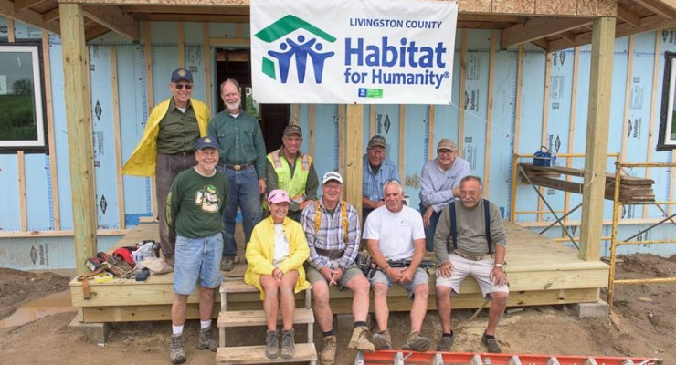 Habitat For Humanity Building 'Airtight' House in Avon