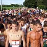 Runners await the start in 2014. (Photo Provided)