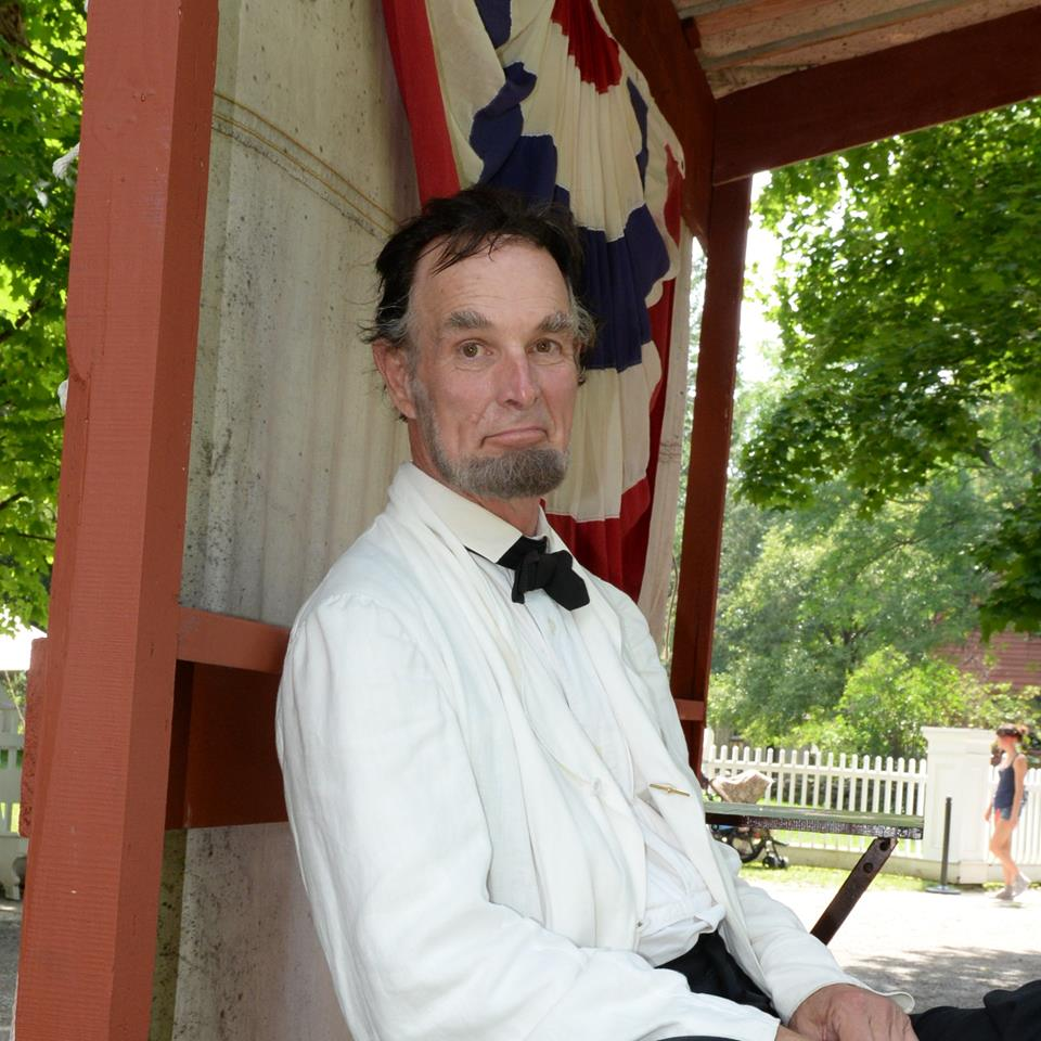 President Lincoln visits GCV&M. (Photos/GCV&M photographer Ruby Foote)