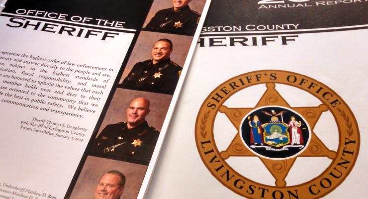 Sheriff's Office Releases Annual Report: Community a Safer Place