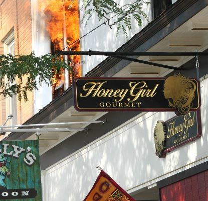 Honey Girl's Will be Resilient in Face of Geneseo Main Street Fire