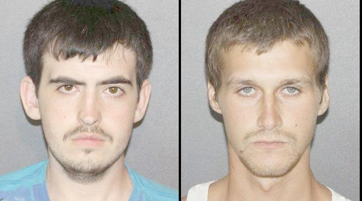 (L-R) Mark Dowd and Johnathan Prescott. (Photo/Livingston County Sheriff's Office)