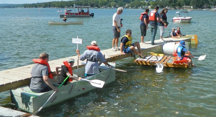 Winners Announced for Vitale Park's 'Anything Floats' Regatta