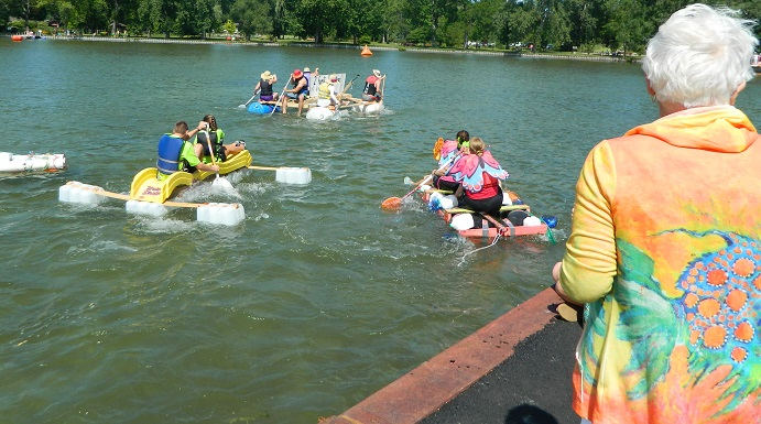 Chip Holt Nature Center's 'Anything Floats' Regatta Cruises Into Third Year