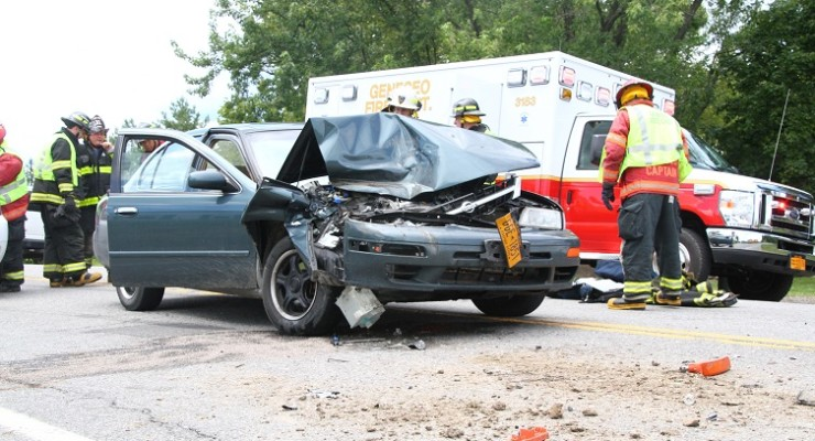 Stop for Lakeville Road Construction Results in Rear-End Collision