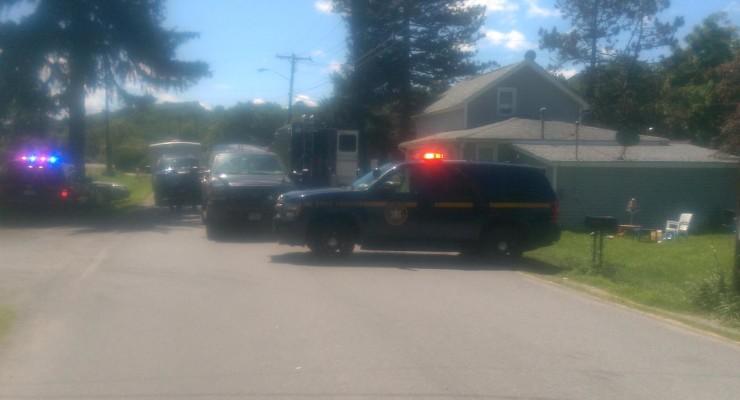 Dansville Crime Scene Established on Meter Road