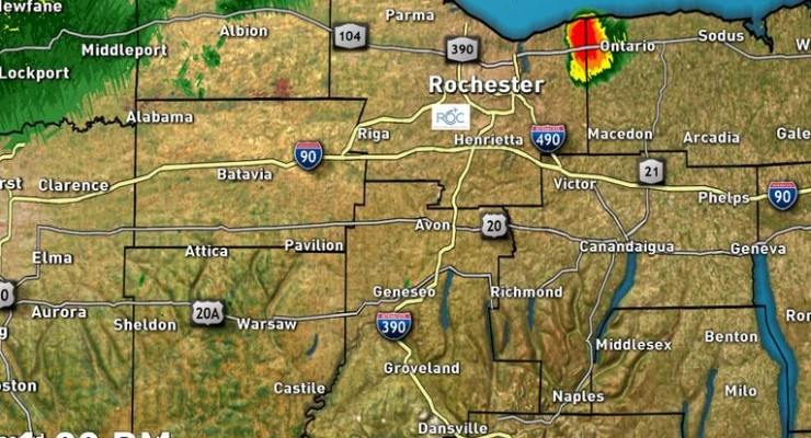 Flash Flood Watch Issued for Livingston County