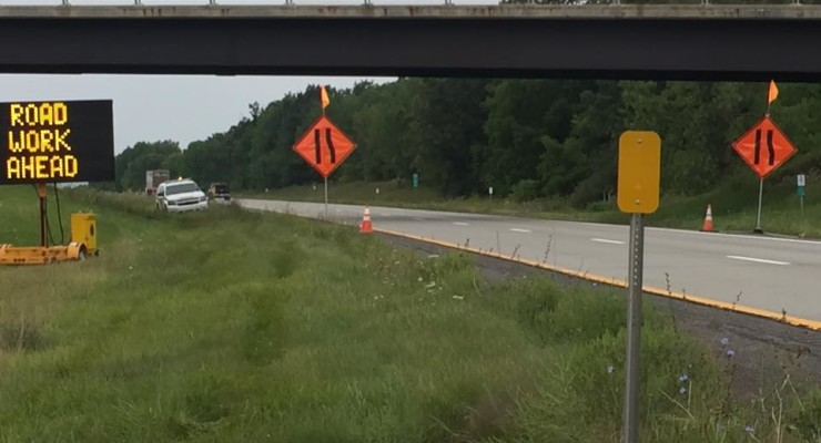 Livingston County Sheriff's Office Protects NYS Workers as Part of 'Operation Safe Interstate'