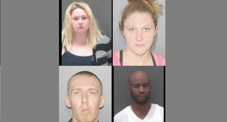 Ragtag Bunch Caught with 30 Bags of Crack by Operation Safe Interstate