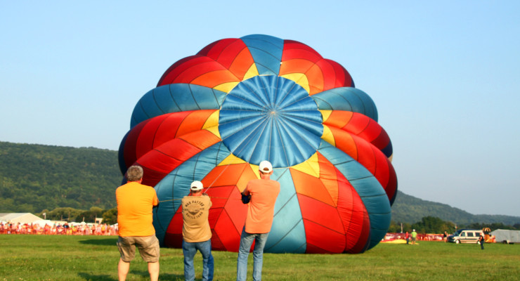 Hot Air Balloon Handler Identified After Fatal Accident