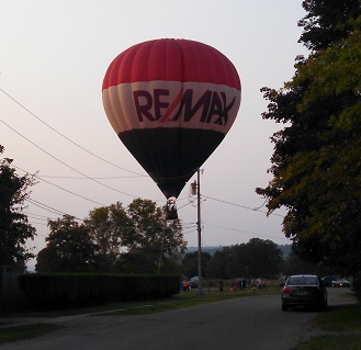 WATCH: Balloon Rides Memorialize Mom and Touch Dansville