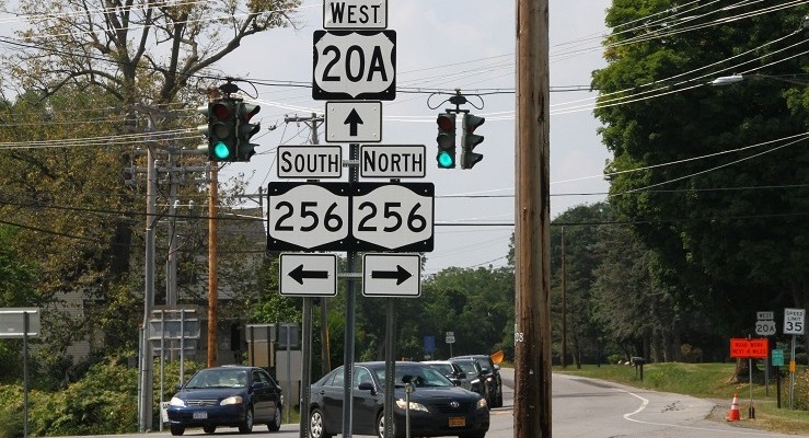 Traffic Delays Expected from 20A Geneseo Repaving