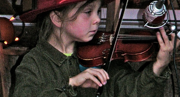 Fiddlers Fair Calls Irish Fiddles to Punky Hollow, Springwater
