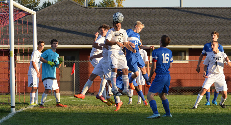 BOYS SOCCER: Geneseo Shocks LeRoy with Dramatic Comeback Victory