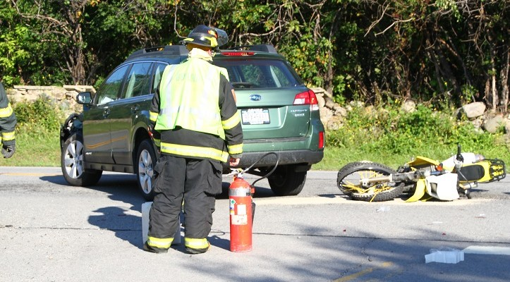 Biker Seriously Injured After Collision with Car in Geneseo