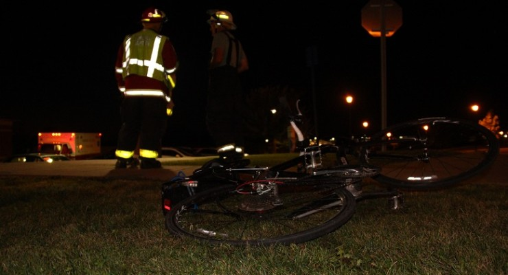 Bicyclist Injured in Close Call with Car in Geneseo