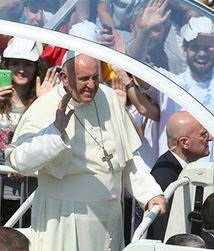 Pope Francis Drinks Conesus Wines at NYC Mass