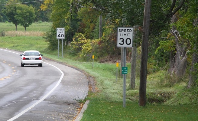 NYS DOT OK's Extending 40 mph Zone by Geneseo School
