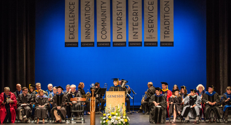 SUNY Geneseo Class of 2019 Begins College Journey