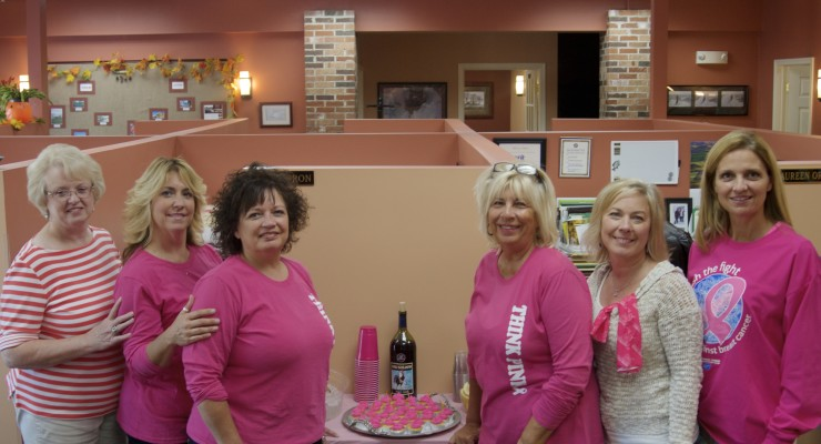 A.B Cole Makes Strides for Breast Cancer Walk
