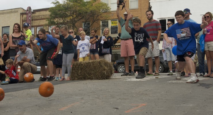 Good Times Roll at Geneseo Bank Street Pumpkin Roll