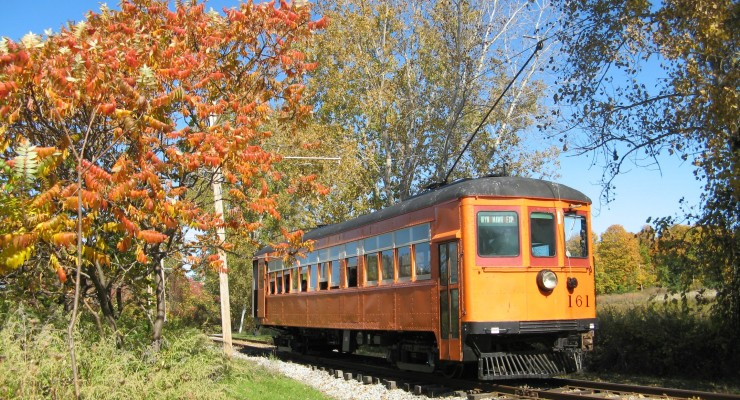 Watch First Fall Colors from the Only Electric Trolley in NYS