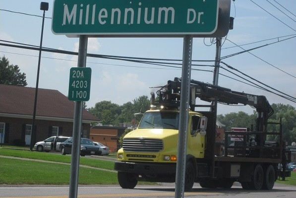 Geneseo's Millennium Drive Now Links Town Office to Walmart Plaza