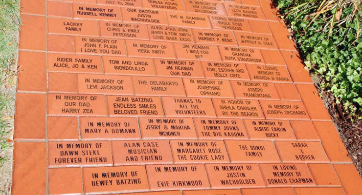 Brick by Brick, the Teresa House Walk of Remembrance Grows
